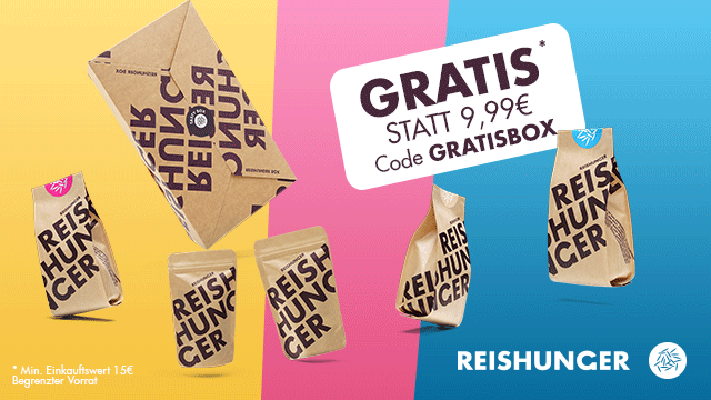 reishunger Gratis Box